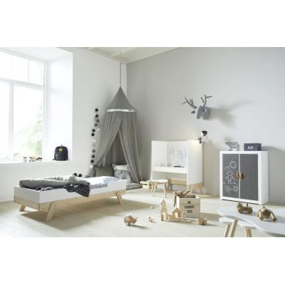 Einzelpfosten für mittelhohes Bett
