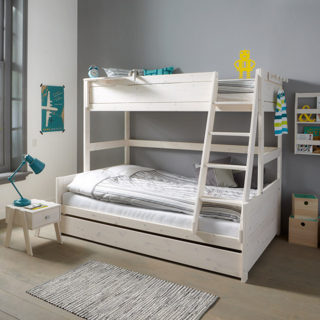 lifetime kidsdrooms etagenbett family 90x200 120x200 inkl lattenroste. Black Bedroom Furniture Sets. Home Design Ideas