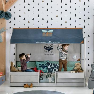 Flexa Leiter und Pfosten für halbhohes Bett