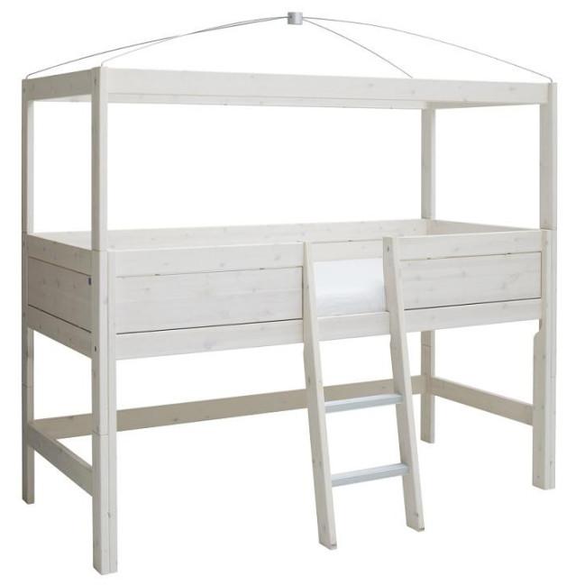 lifetime mini himmel hochbett lisa mit einstieg in der mitte 90x200. Black Bedroom Furniture Sets. Home Design Ideas